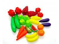 """Игрушечный набор """"Фрукты-овощи""""  Орион 518"""