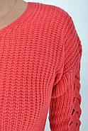 Свитер женский 122R025 цвет Розовый, фото 2