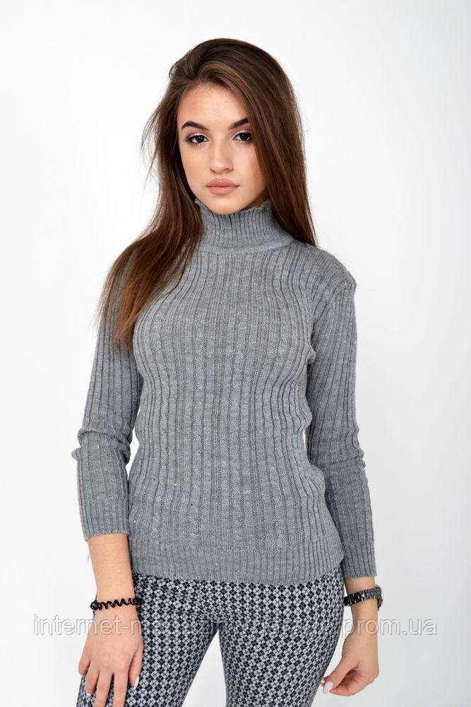 Гольф женский 117R023 цвет Серый