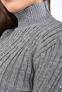 Гольф женский 117R023 цвет Серый, фото 2