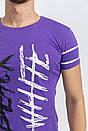 Футболка мужская 116R036 цвет Фиолетовый, фото 2