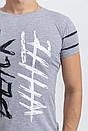 Футболка мужская 116R036 цвет Серый, фото 2