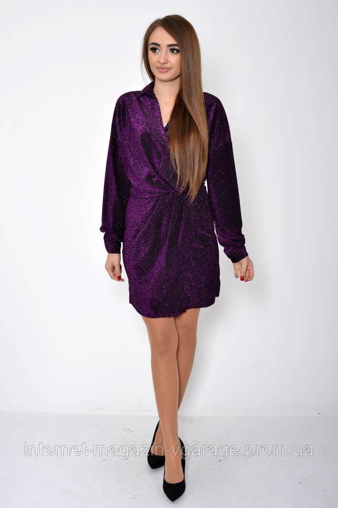 Платье женское 115R361 цвет Фиолетовый