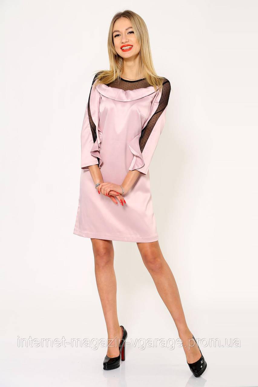 Платье женское 115R358Y цвет Розовый
