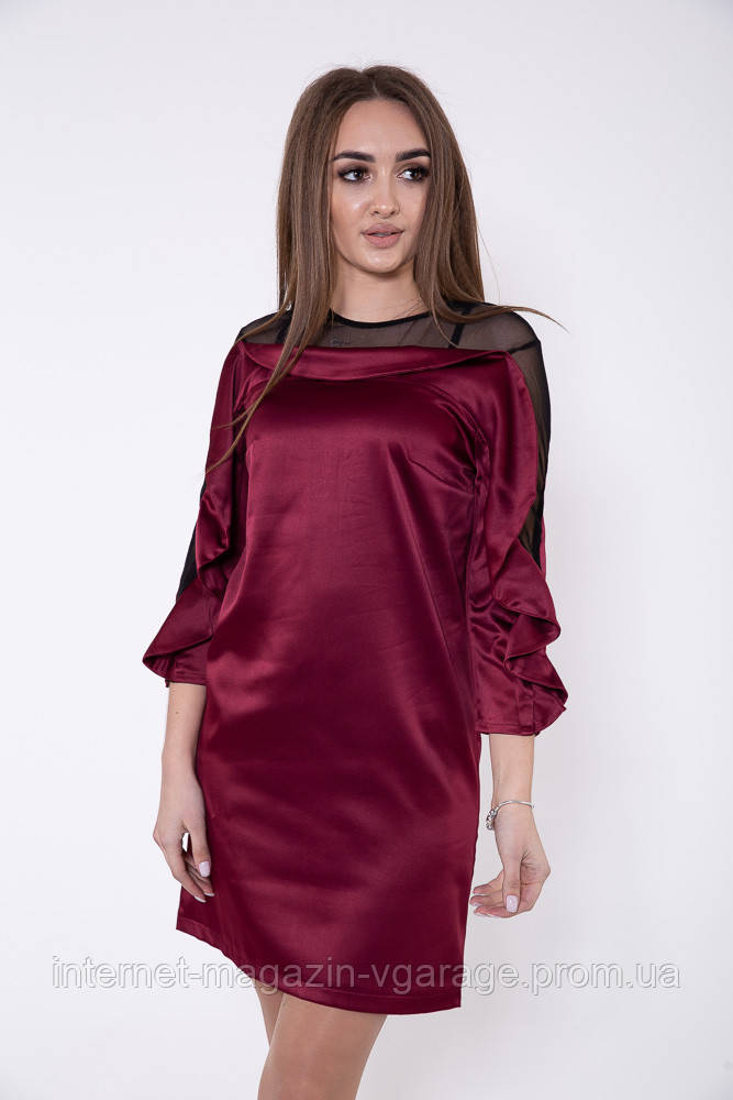 Платье женское 115R358A цвет Бордовый