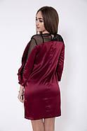 Платье женское 115R358A цвет Бордовый, фото 3