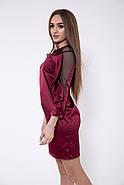 Платье женское 115R358A цвет Бордовый, фото 4