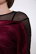 Платье женское 115R358A цвет Бордовый, фото 2