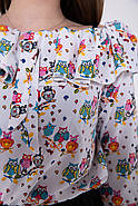 Блуза женская 115R2881 цвет Белый, фото 2