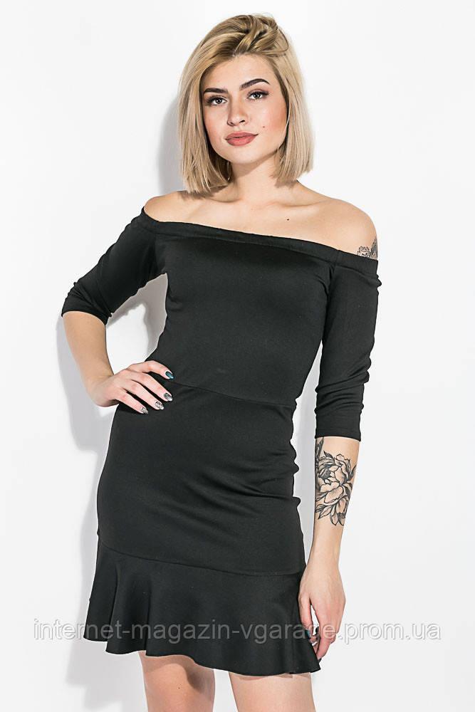 Платье женское 115R276-1 цвет Черный