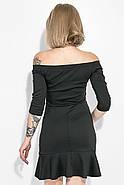 Платье женское 115R276-1 цвет Черный, фото 4