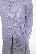Блузка женская 115R199 цвет Сине-белый, фото 2