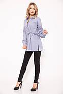 Блузка женская 115R199 цвет Сине-белый, фото 5