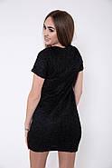Платье женское 115R165 цвет Черный, фото 3