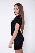 Платье женское 115R165 цвет Черный, фото 4