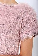Платье женское 115R156 цвет Пудровый, фото 2