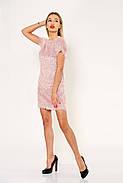 Платье женское 115R156 цвет Пудровый, фото 4