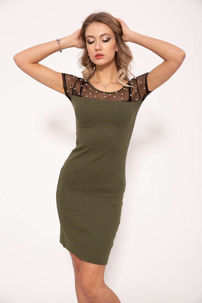 Платье 103R087 цвет Хаки