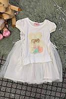 Платье детское белое размер 150 AAA 6050, фото 1