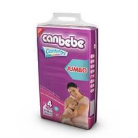 Подгузники CANBEBE Comfort dry JUMBO maxi+ №4+ (9-20кг), 44 шт