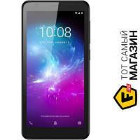 ZTE Blade L8 1/16GB Black мобильный телефон недорогие сенсорный моноблок 3G, EDGE, GPRS черный
