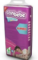 Подгузники CANBEBE Comfort dry JUMBO maxi+ №4+ (9-20кг), 30шт