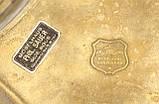 Старое бронзовое блюдо, конфетница, салатница, бронза, Германия, Gilde, фото 8