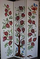 Ширма «Древо РОДА» ручная роспись на холсте.