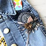 Летний джинсовый костюм на девочку. Размер  3 года, фото 4