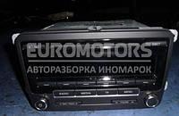 Магнитола штатная под диски CD, Radio VW Touran  2010-2015 1k0035186an
