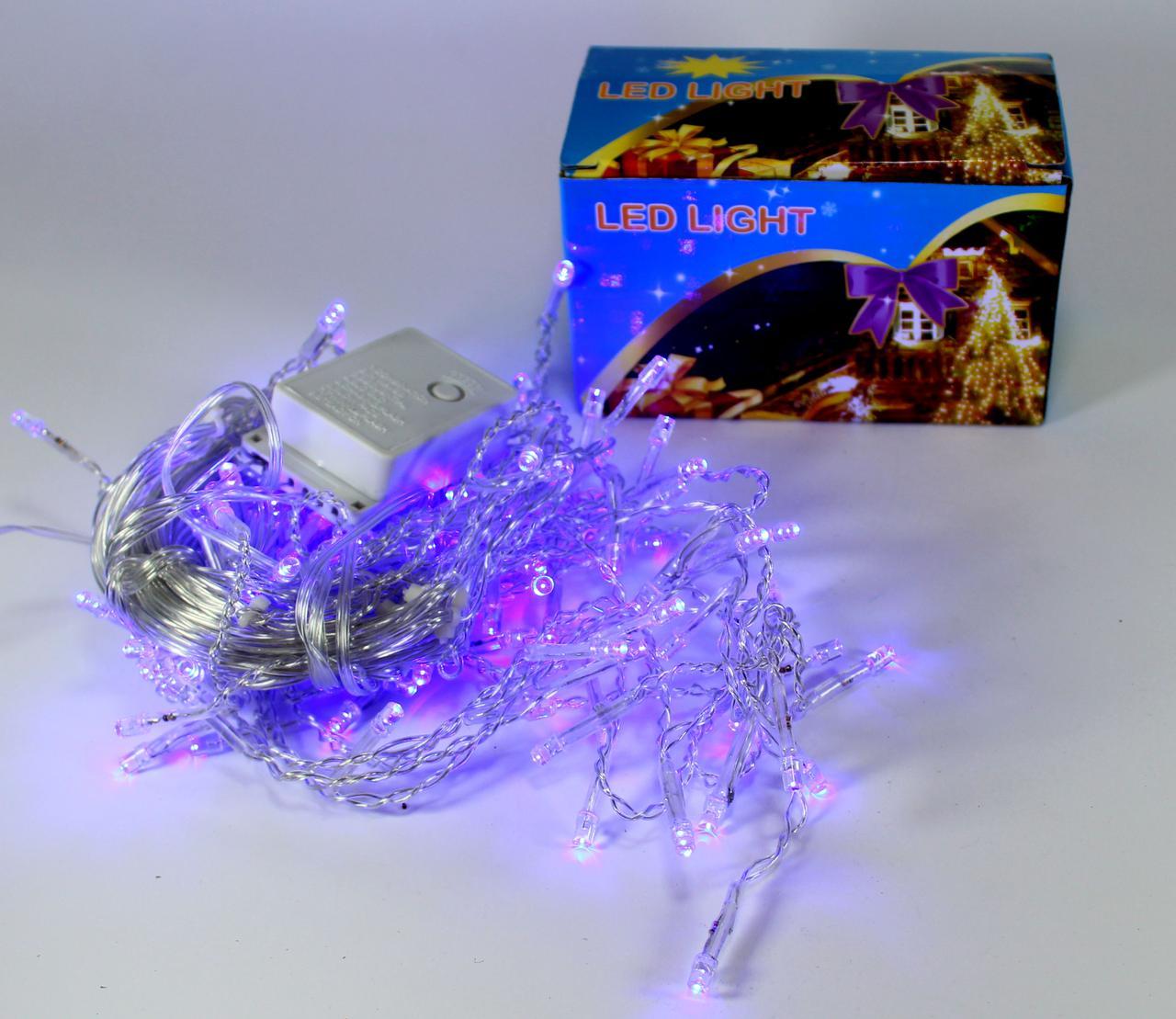 Светодиодная LED гирлянда Xmas 120P NET B (синий диод)