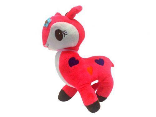 "Мягкая игрушка ""Лама"" (коралловая) 1437 Yi Wan (TC112156)"