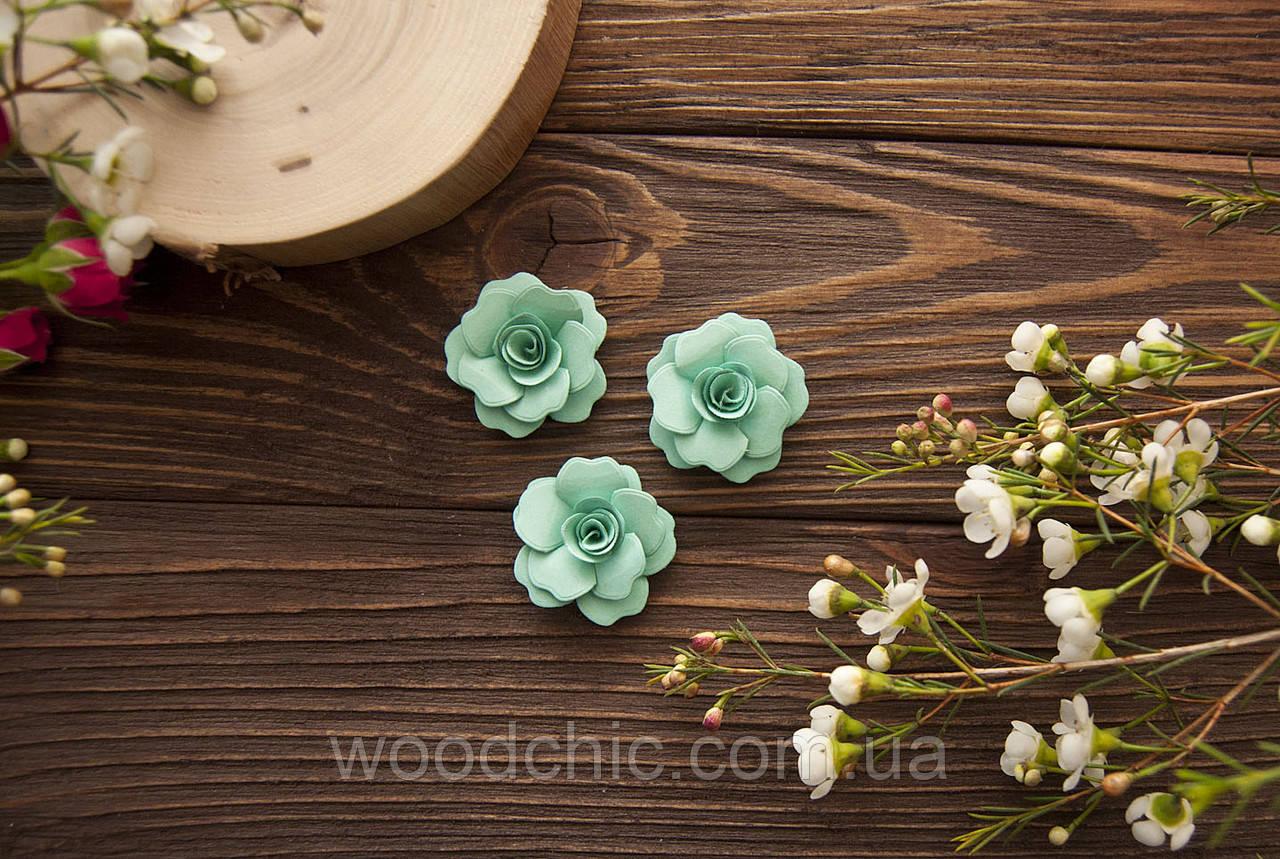 Набор Бумажные розы 109 мята