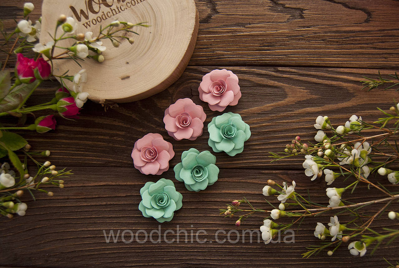 Набор Бумажные розы 113