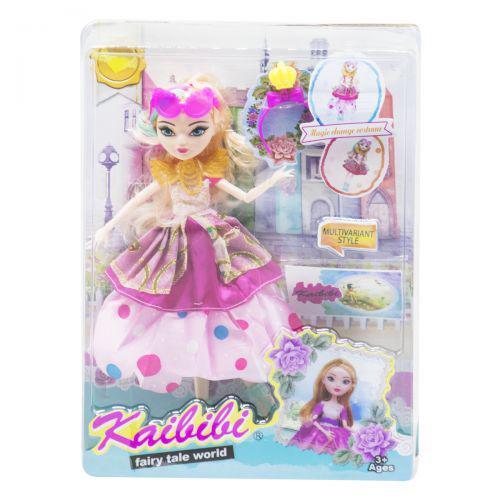 "Кукла ""KAIBIBI: Fairy Tale World"" с аксессуарами (розовый) JIA YU TOY BLD123-1 ( TC126976)"
