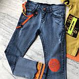 Летний джинсовый костюм на мальчика 8. Размер 6 лет, фото 6