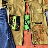 Летний джинсовый костюм на мальчика 8. Размер 6 лет, фото 2