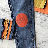 Летний джинсовый костюм на мальчика 8. Размер 6 лет, фото 7