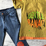 Летний джинсовый костюм на мальчика 8. Размер 6 лет, фото 4