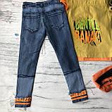 Летний джинсовый костюм на мальчика 8. Размер 6 лет, фото 8