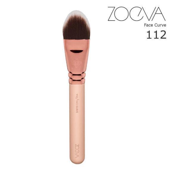 Кисть Zoeva 112 для тональної основи Golden Rose