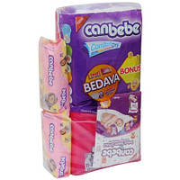 Подгузники CANBEBE Comfort dry JUMBO BONUS midi (6-9кг),70 шт