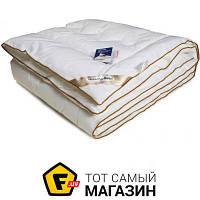 Одеяло детское 140 x 105 см - искусственный лебяжий пух Руно 320.29.ЛПКУ Golden Swan белый