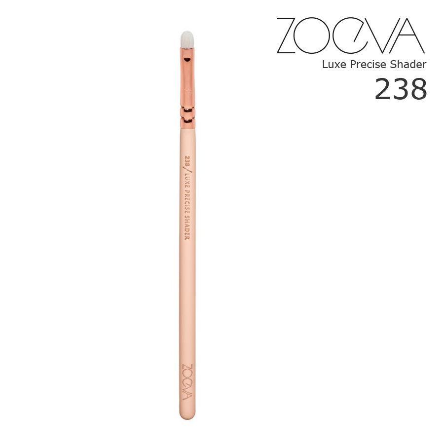 Кисть для теней Zoeva 238 Rose Golden