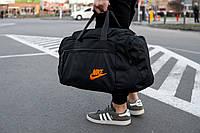 Мужская спортивная сумка Nike orange, фото 1