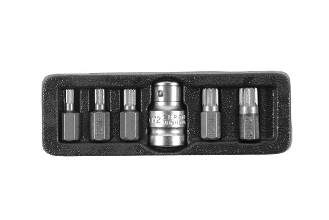 Набор бит SPLINE Ultra ½ 6шт S2 ULTRA (пласт кейс) (4013402)