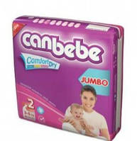 Подгузники CANBEBE Comfort dry JUMBO mini №2 (3-6кг), 72 шт