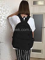 Рюкзак для девушки/девочки подростка – стильный, городской/молодежный школьный, женский, модная Сумка | черный