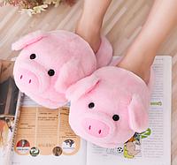Розовые тапочки свинки