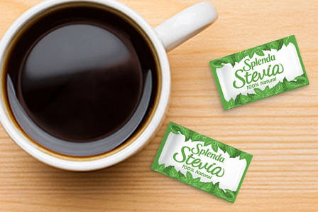 Стевия без горького послевкусия Splenda натуральный сахарозаменитель 140 стиков США 280 g, фото 2